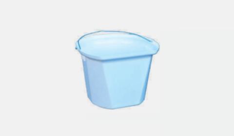 Ведро 17,5 литров для телят, градуированное на каждый литр