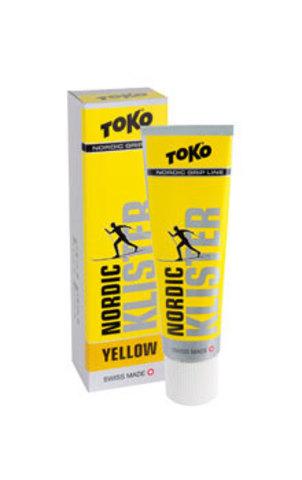 Картинка клистер Toko Grip Line клистер желтый - 1