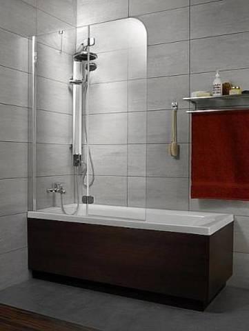 Шторка для ванны Torrenta PNJ 800*1500 хром/прозрачное/6мм прав/лев 201101-101