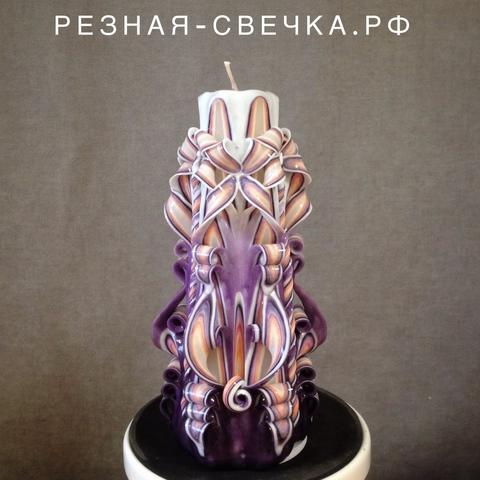 Резная свеча Девичьи грезы  17 см