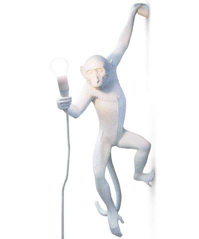 Настенный светильник светильник копия Monkey by Seletti (белый)