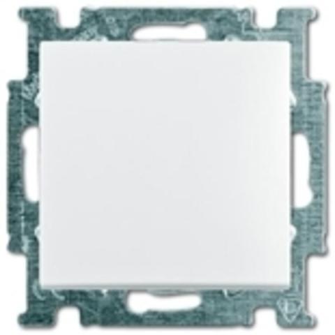 Переключатель одноклавишный. Цвет белый. ABB Basic 55. 1012-0-2142