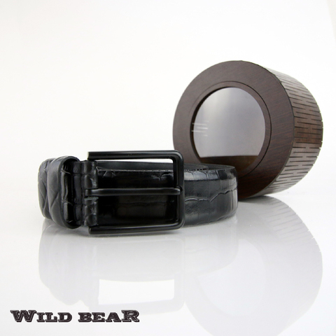 Ремень WILD BEAR RM-002f Black Premium