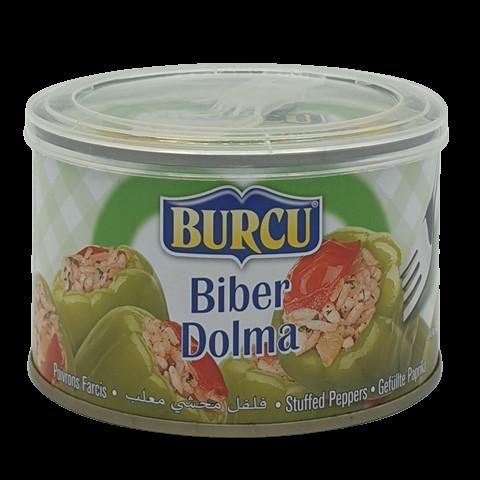 Консервированный перец фаршированный Biber Dolma BURCU, 400 гр