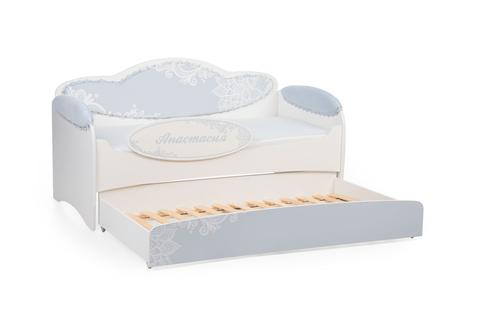 Диван-кровать для девочек Mia Аквамарин