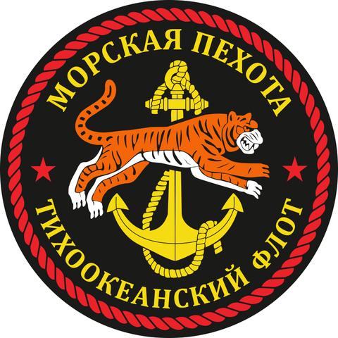 Купить наклейку морпех ТОФ - Магазин тельняшек.руНаклейка Морская пехота ТОФ d10см в Магазине тельняшек