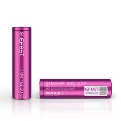 Аккумулятор 18650 Efest Li-Mn 3.7V 2100mAh, 38А