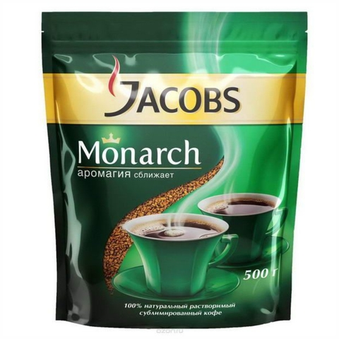 Кофе JACOBS MONARCH 500 гр м/у РОССИЯ