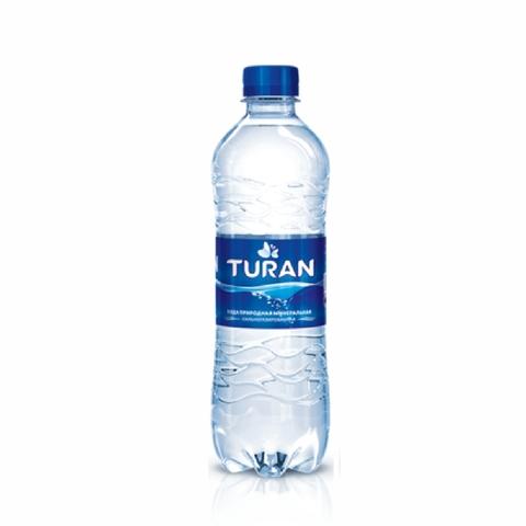 Вода минеральная TURAN газ 0,5 л пл/б КАЗАХСТАН
