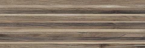 Плитка настенная Zen  полоски коричневый 200х600 60030