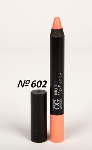 OG-FP3011B Помада-карандаш тон 602 розовый крем МАТОВАЯ Matte Lip Pencil PRO