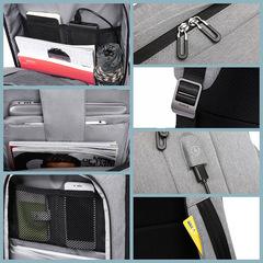 Рюкзак вместительный для ноутбука 15,6 КАКА 17009 тёмно-серый