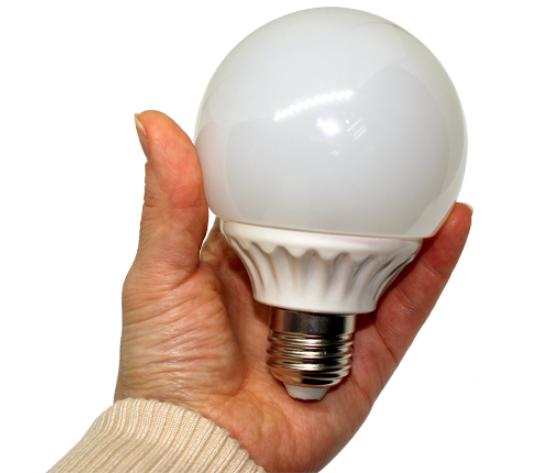 Лампочка горит в руке 2.0