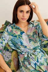 Сукня-сорочка з принтом