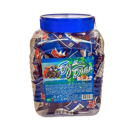 Жевательная резинка Бумболл синий 1кор*8бл*90шт, 1,5 гр