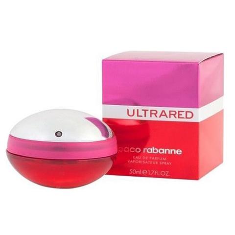 Paco Rabanne: UltraRED женская парфюмерная вода edp, 80мл
