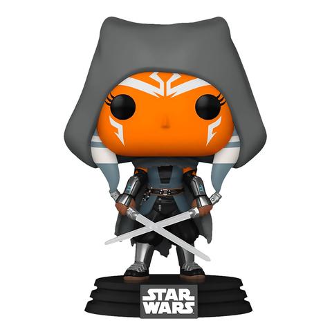 Фигурка Funko POP! Bobble Star Wars Mandalorian Ahsoka (hooded) (Exc) 58285