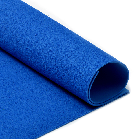 Фоамиран 2мм махровый. Цвет: синий