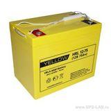Аккумулятор YELLOW HRL 12-75 ( 12V 75Ah / 12В 75Ач ) - фотография