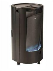 Газовый обогреватель каминного типа ТМС BLUE BELLE CHIC ТМ 4,2 кВт Чёрный