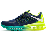 Кроссовки Мужские Nike Air Max 2015 Dark Blue Green Turquoise