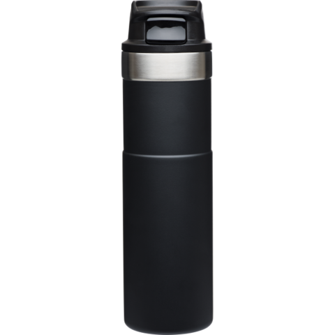 Термокружка Stanley Classic Trigger Action One Hand (0,47 литра), черная