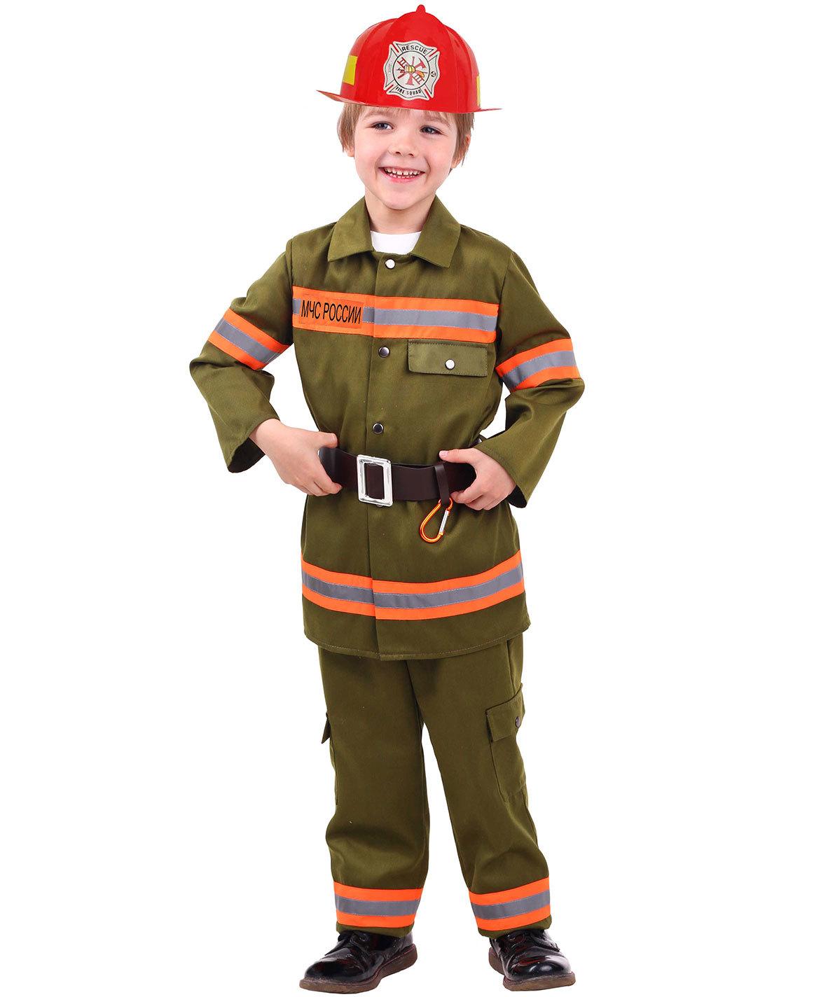 Карнавальный костюм для мальчика Пожарный