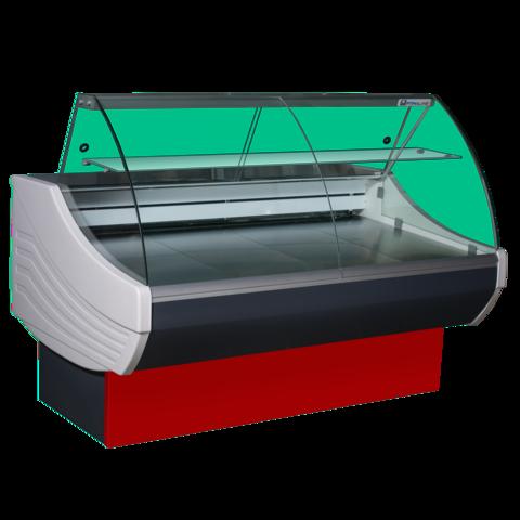 Холодильная витрина SIGMA BASIC 1300V (1300х1090х1230, 6,8 кВт.ч./сут)  °С-6...+6