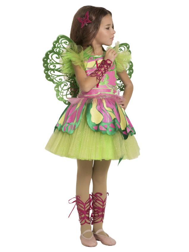 Карнавальный Костюм феи Флоры для девочки
