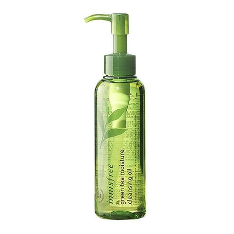 Innisfree Green Tea Cleansing Oil гидрофильное масло с экстрактом зеленого чая