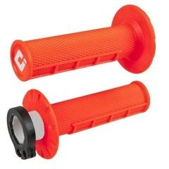 Грипсы ODI MX V2 Lock-On H36HWO Неон оранж 4 и 2-х тактных