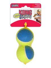 Игрушка для собак KONG Ultra Squeak мячик большой 2 шт. в уп. 8 см