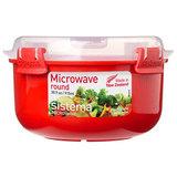 Контейнер круглый Microwave 915 мл, артикул 1113, производитель - Sistema, фото 2