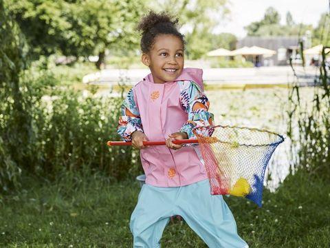Ветровка для девочки водонепроницаемая Lupilu