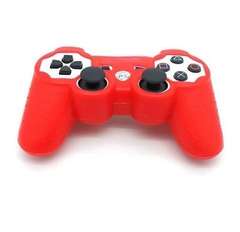 Чехол для беспроводного контроллера DualShock 3 (Красный)