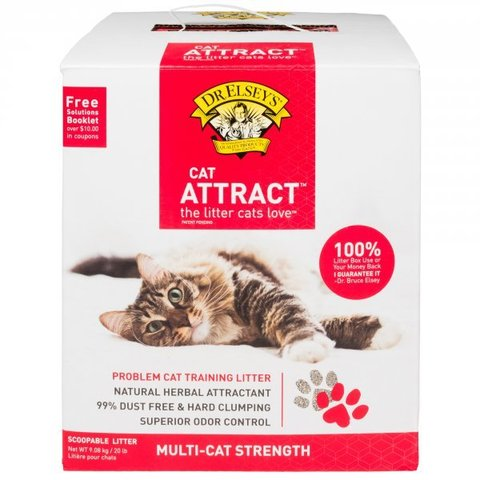 Dr.Elsey's Cat Attract (9,07 кг.)