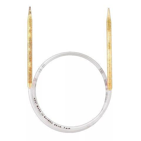 Спицы Addi  пластиковые круговые с гибкой леской 100 см, 15 мм