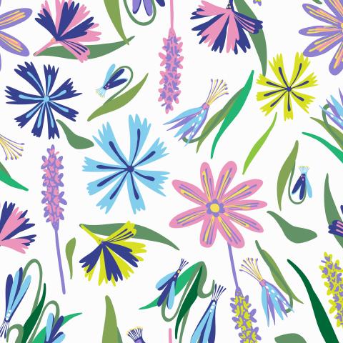 Цветочная весна