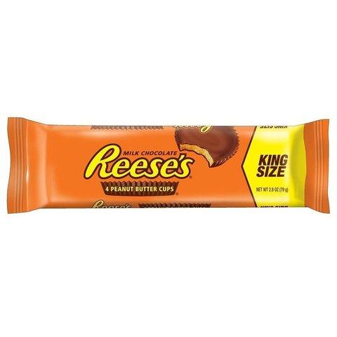 Молочный шоколад Reese's Peanut Butter Cup King Size 4Pk арахисовое масло