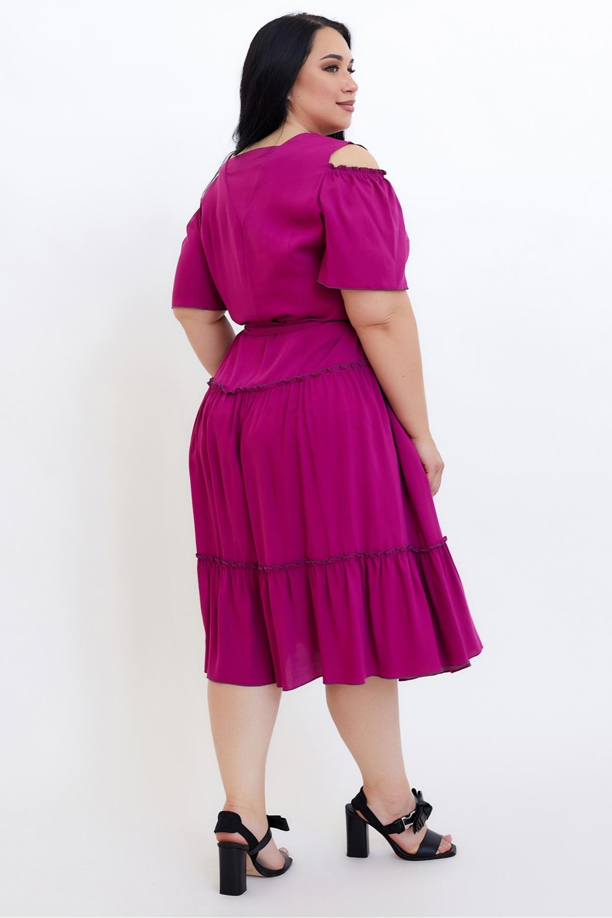 Сукня Люсьєна (малина)