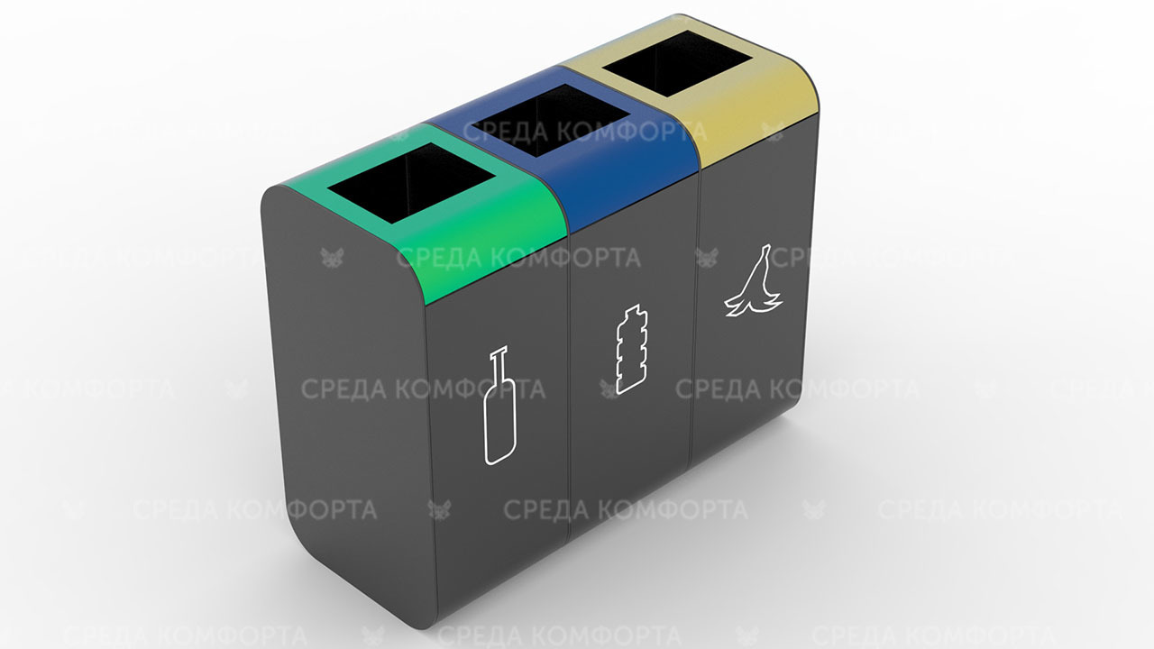 Урна для раздельного сбора мусора URN0154