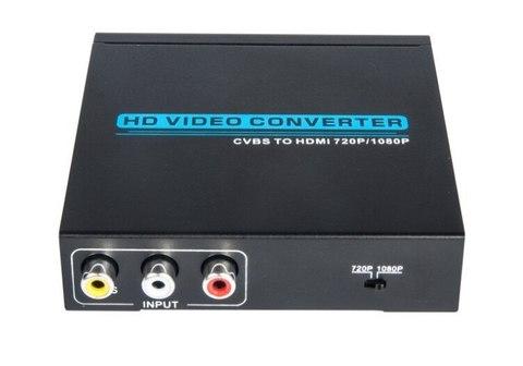 Переходник  конвертер из AV в HDMI Converter преобразователь