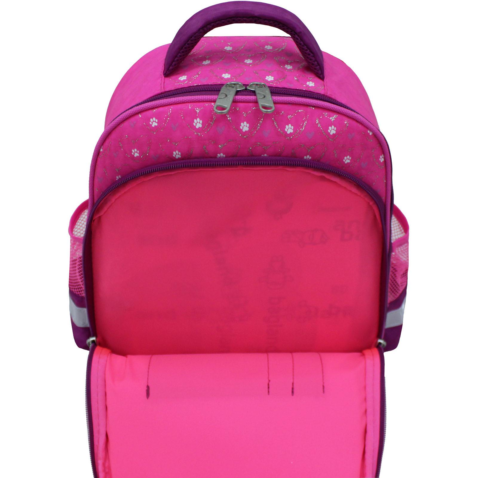 Рюкзак школьный Bagland Mouse 143 малиновый 167к (0051370) фото 4