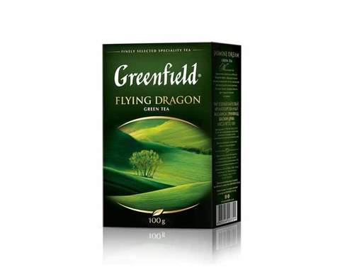 Чай зеленый листовой Greenfield Flying Dragon, 100 г