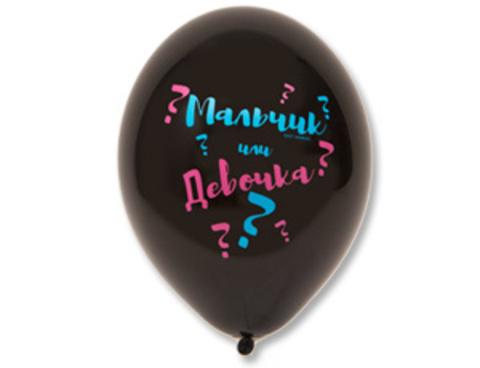 Воздушные шары мальчик или девочка