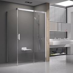 Душевой уголок с раздвижной дверью 100х100х195 см правый Ravak Matrix MSDPS-100/100 R 0WPAAU00Z1 фото