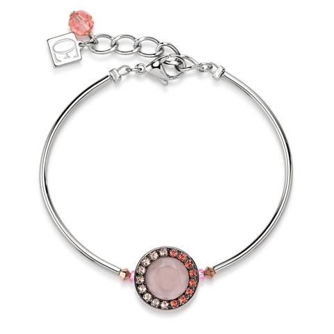 Браслет Coeur de Lion 4865/30-0225 цвет розовый