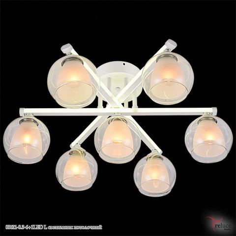 05611-0.3-6+1LED WT светильник потолочный