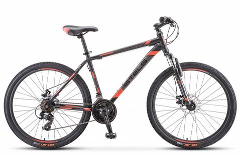 Горный велосипед Stels Navigator-500 MD черно-красный