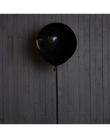 Шар гигант чёрный